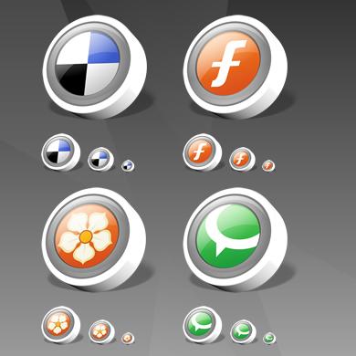icontexto webdev social bookmark pack 01 Gratuit: Liste dicones pour médias sociaux