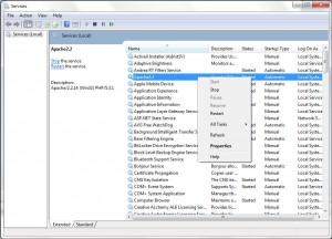 mysql 5 étapes d'installation de windows