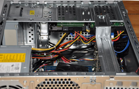 DELL XPS-8000 intérieur