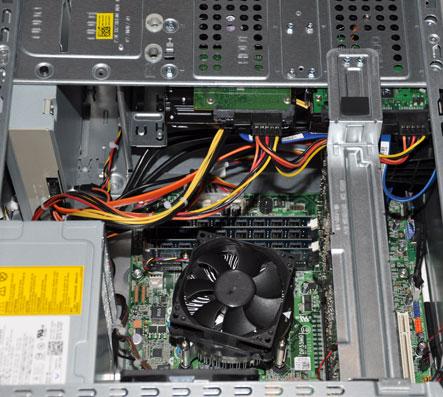 DELL XPS studio - 8000 - intérieur